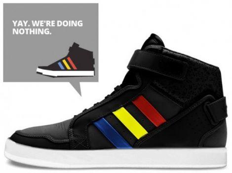 google adidas scarpa parlante