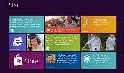 Windows 8 RTM aprile 2012