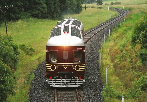 Byron Bay Solar Train