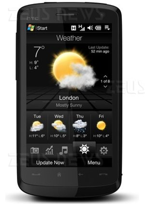 Htc Touch Hd Diamond Windows Mobile 6.1 TouchFlo 3