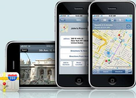 Apple iOS 6 addio google maps