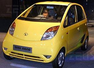 Tata Nano, l'auto low-cost in produzione a ottobre