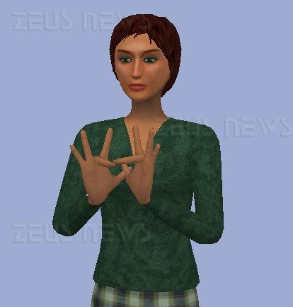 Un esempio di avatar che comunica in BSL.