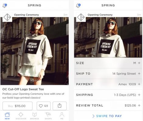 spring go shopping instagram moda