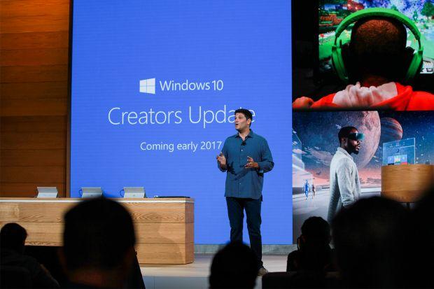 microsoft windows 10 creators update clover trail