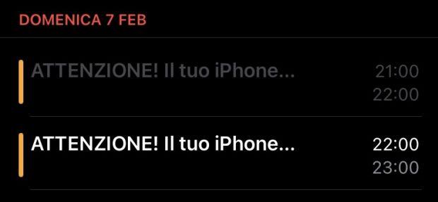 iphone spam