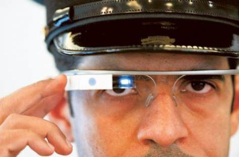 google glass polizia