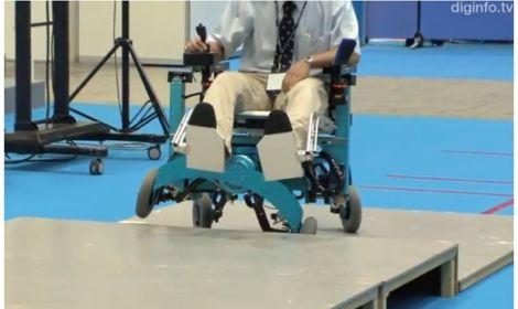 Olimpo informatico leggi argomento la sedia a rotelle for Sedia elettrica che sale le scale