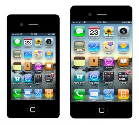 iphone colorati e 5 pollici