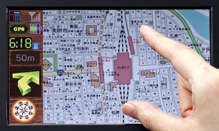 Toshiba LTPS TFT LCD touchscreen spesso 1 mm