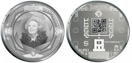 Monete olandesi QR code zecca reale