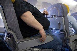 Air France passeggeri sovrappeso due posti