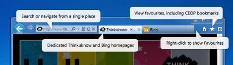 ie9 ceop toolbar