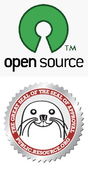 Opensource and OpenData logo