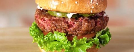 Impossible Foods Meatless Burger