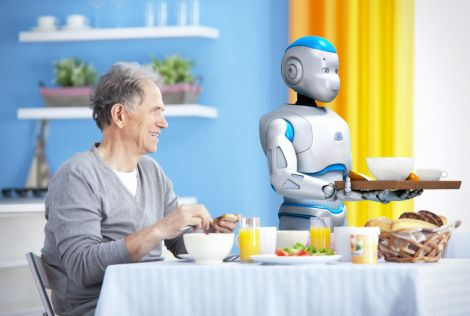 ramcip robot maggiordomo