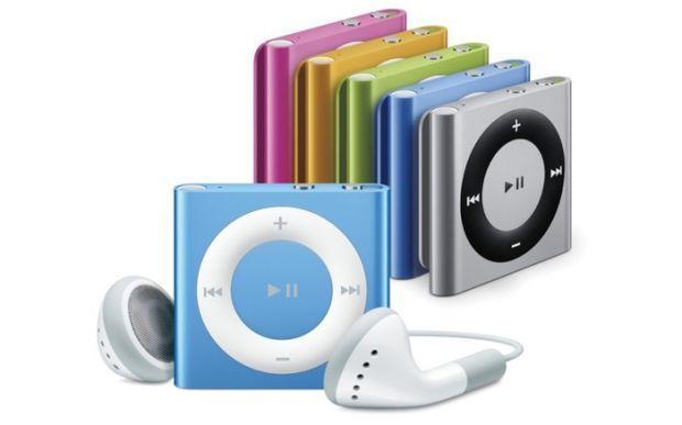 apple cancella ipod nano shuffle