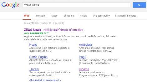 google virgolette