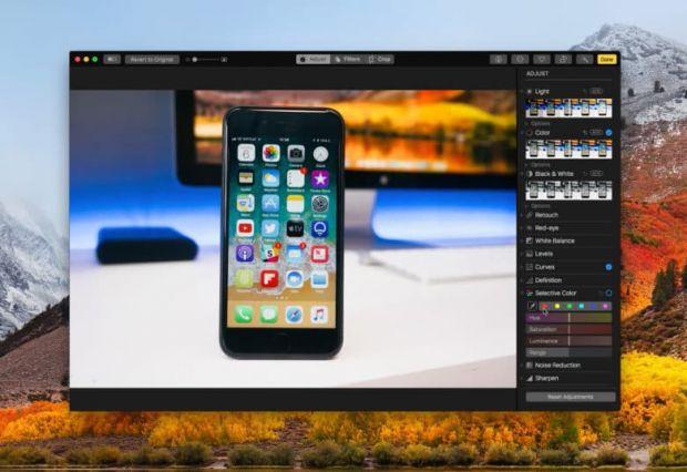 macOS High Sierra Photos 780x536