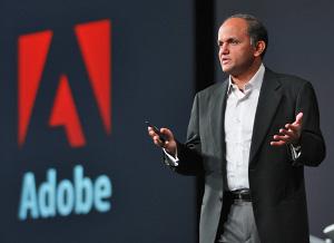 Steve Jobs Narayen Adobe Flash iPhone