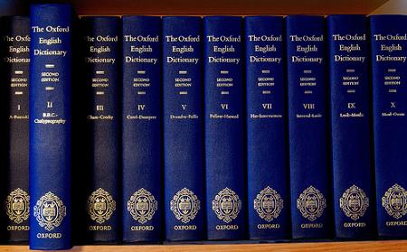 Oxford English Dictionary acronomi Internet OMG LO