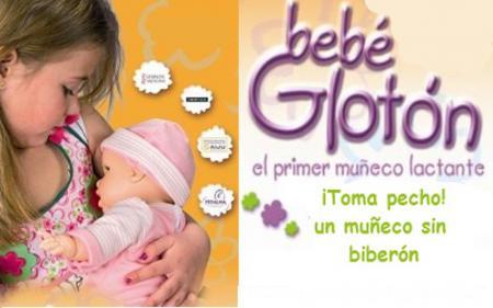 Bebé Glotón bambola bambine allattare