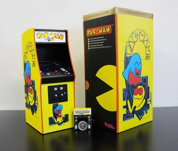 Pac Man quater arcade