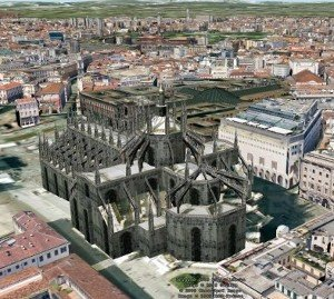 Google Earth Milano 3D