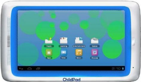 archos childpad 7 pollici bambini android 4 ics