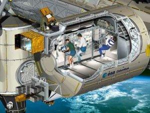 ISS esperimenti diamanti radiazioni cosmiche