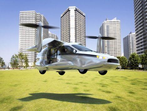 terrafugia tf x flying hybrid car