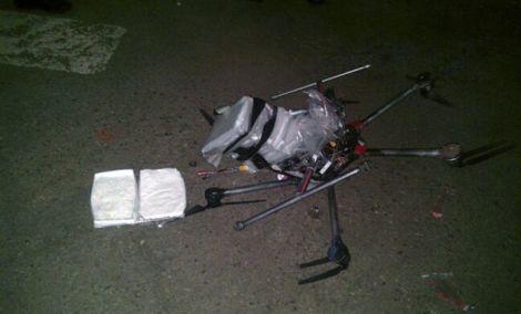 drone corriere droga