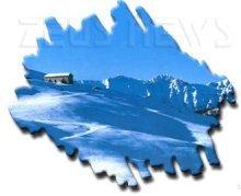 Immagine di monti innevati
