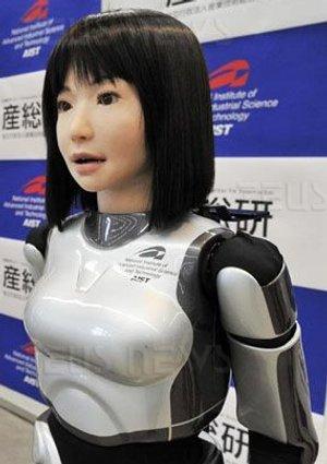HRP-4C modella robot Giappone Masayoshi Kataoka