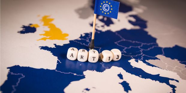ue articolo 13 copyright