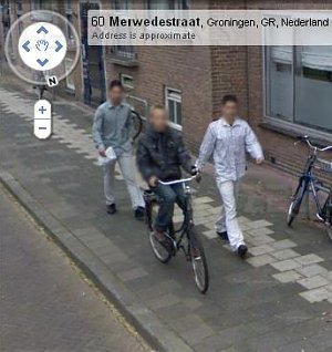 Google Street View Groningen aggressori arrestati