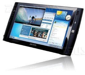 Archos 9 Tablet Pc con Windows 7 Starter Edition