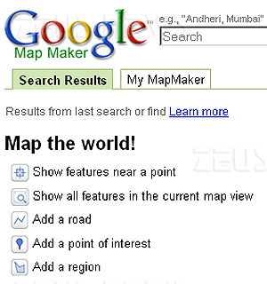 Tutti cartografi con Google Map Maker