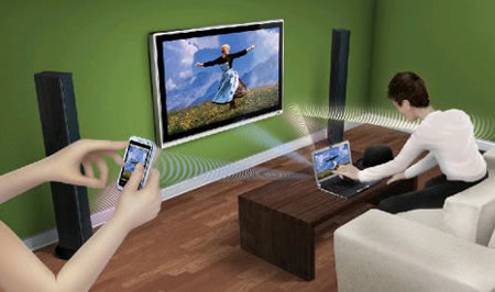 WiGig 1.1 wireless HDMI DisplayPort 60 GHz