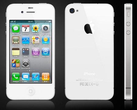 Apple iPhone 4 bianco Phil Schiller raggi UV