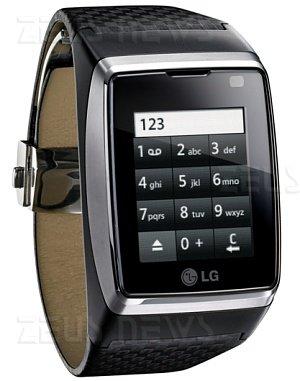 LG Watch Phone GD910 smartphone da polso