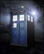 [un Tardis di Doctor Who]
