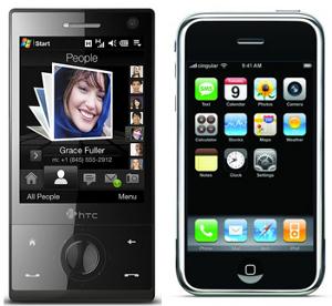 HTC querela Apple 5 brevetti blocco vendite