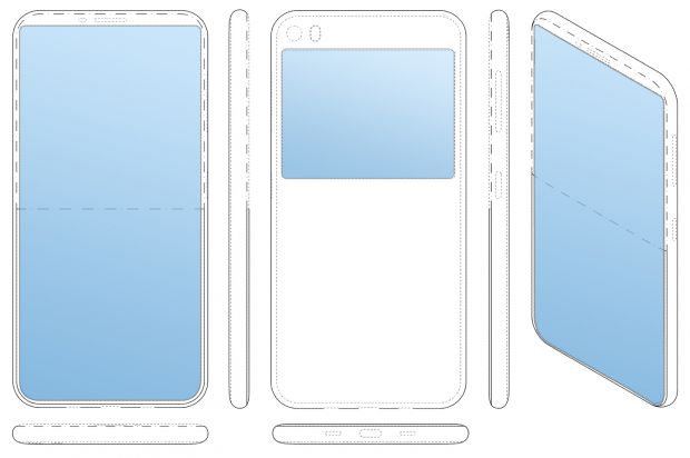 Samsung schermo posteriore