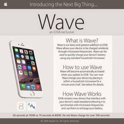 apple wave prank