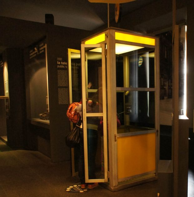 cabina telefonica Sip