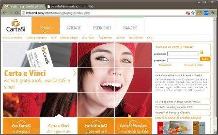 Sony sito Tailandia Cartasì truffa phishing