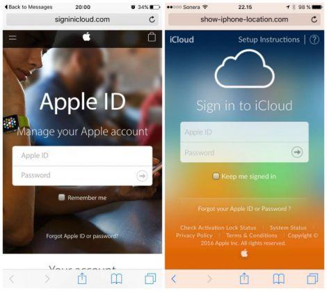 iphone scam