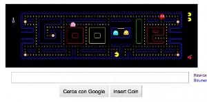 Google Pac-Man donna assistenza tecnica