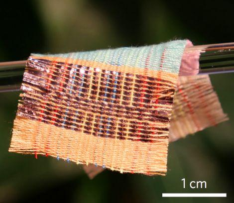 tessuto fotovoltaico triboelettrico
